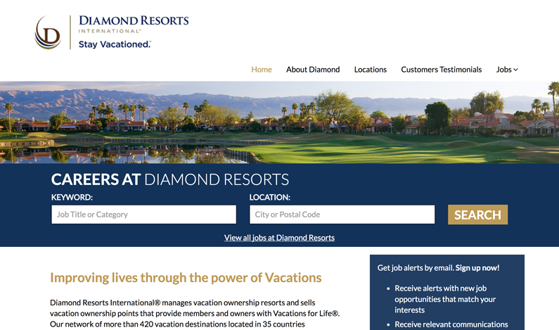 Diamond Resorts Sample Image