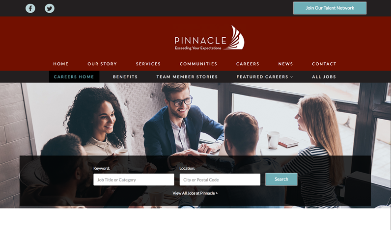 Pinnacle Living Sample Image